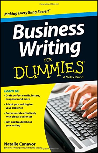 Business Writing For Dummies(r)