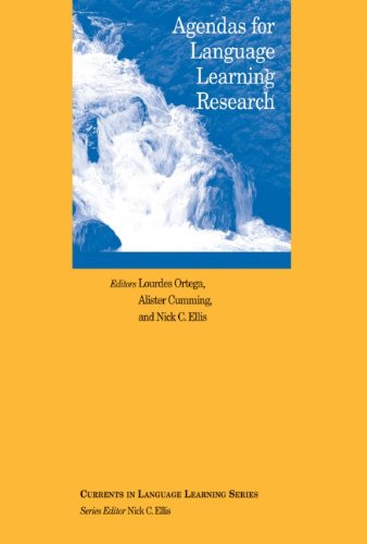 Agendas for Language Learning Research (Language Learning Monograph)