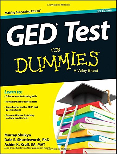 GED Test For Dummies (Ged for Dummies)