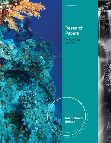 Research Papers (International ed of 16th revised ed)