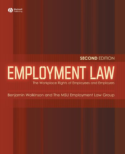 Employment Law: The Workplace Rights of Employees and Employers (2nd Revised edition)