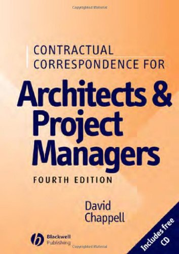 Contractual Correspondence for Architects and Project Managers (4th Revised edition)