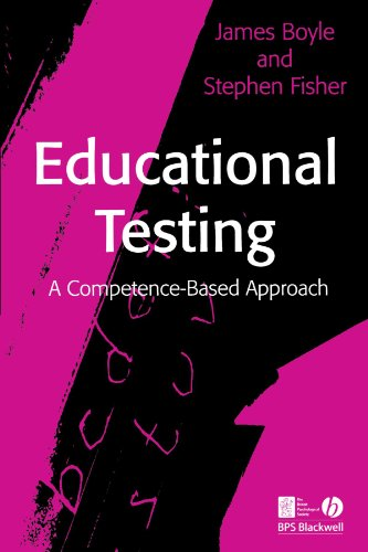 Educational Testing: A Competence Based Approach