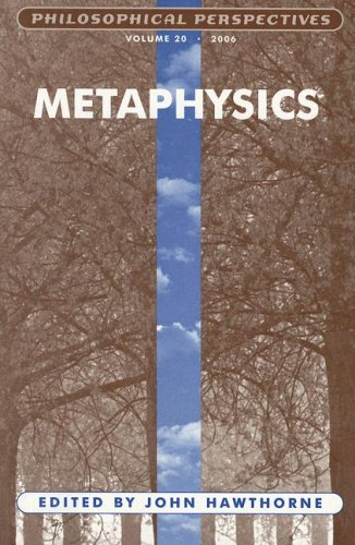 Philosophical Perspectives: Metaphysics: v. 20