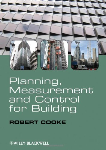 Planning' Measurement and Control for Building