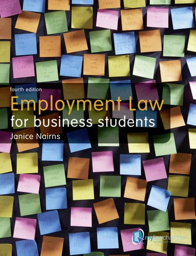 Employment Law for Business Students (4th Revised edition)