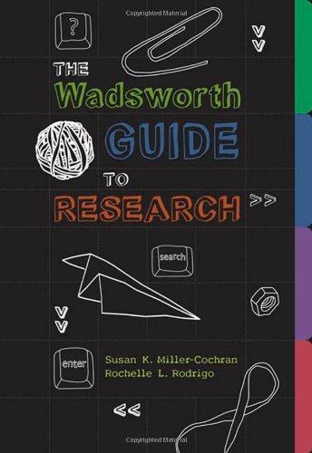 Wadsworth Guide to Research' The