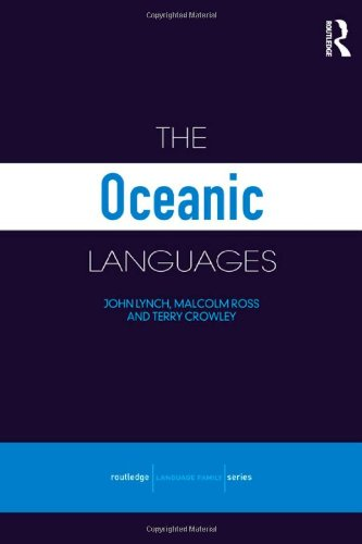 The Oceanic Languages