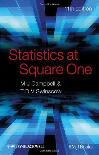 Statistics at Square One (11th Revised edition)