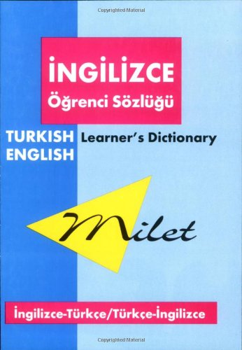 Milet Learners Turkish Dictionary: English-Turkish' Turkish-English