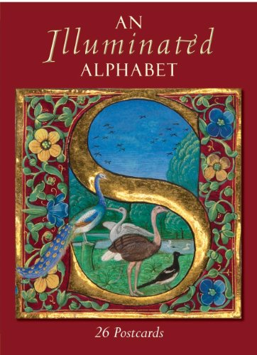 An Illuminated Alphabet: 26 Postcards (Bodleian Library - Postcards From)