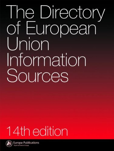 Directory of EU Information Sources (14th Revised edition)