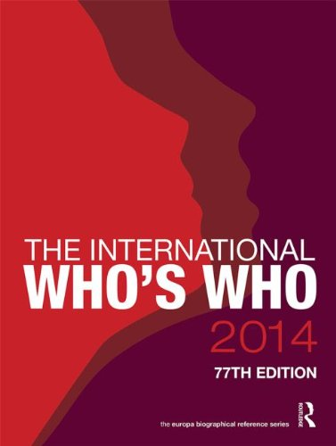 International Whos Who 2014