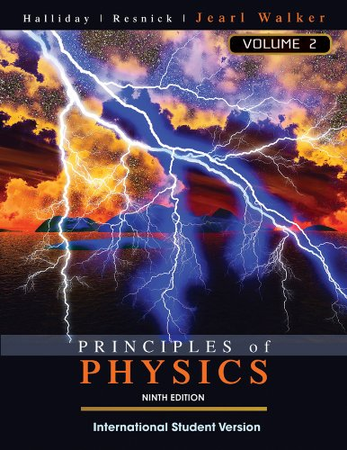 Principles of Physics: v. 2' Chapters 21-44 (9th International student edition)