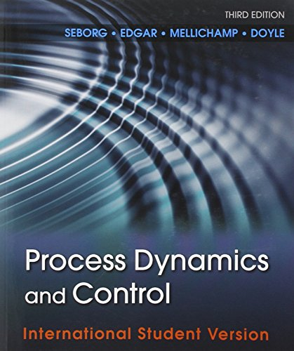 Process Dynamics and Control' 3e International Student Version