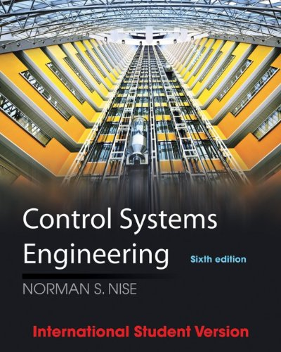 Control Systems Engineering (6th International student edition)