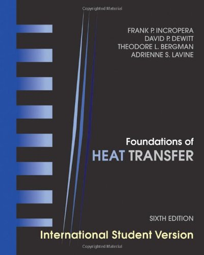 Foundations of Heat Transfer