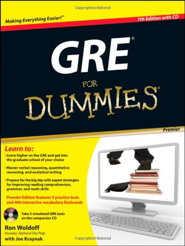 GRE For Dummies (For Dummies