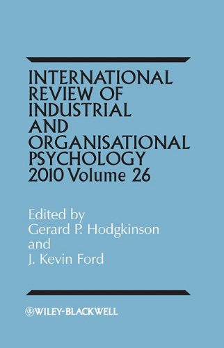 International Review of Industrial and Organizational Psychology: 2011