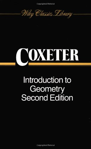 Introduction to Geometry (New ed of 2 Revised ed)