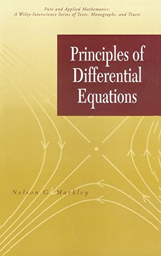 Principles of Differential Equations