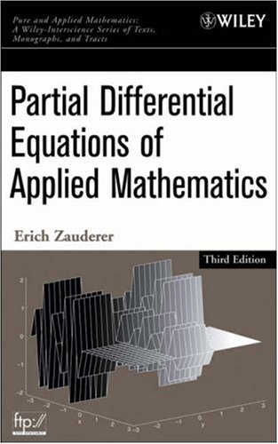 Partial Differential Equations of Applied Mathematics (3rd Revised edition)