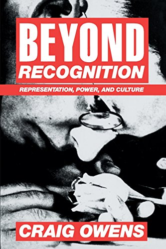 Beyond Recognition: Representation' Power and Culture