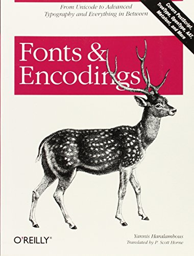 Fonts and Encodings