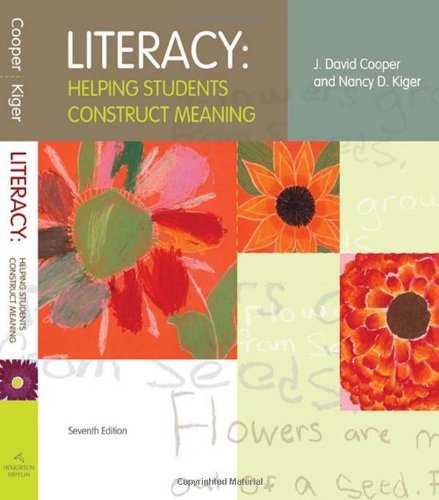 Literacy: Helping Students Construct Meaning: Student Text (7th edition)