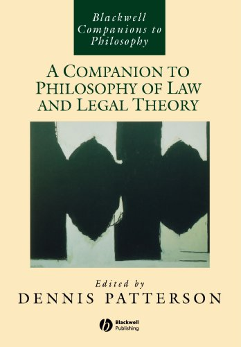 A Companion to Philosophy of Law and Legal Theory (New edition)