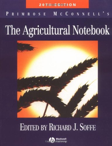 Agricultural Notebook' The