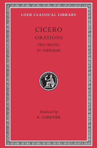 Pro Sestio (Revised edition)