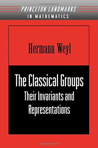 The Classical Groups: Their Invariants and Representations (New edition)