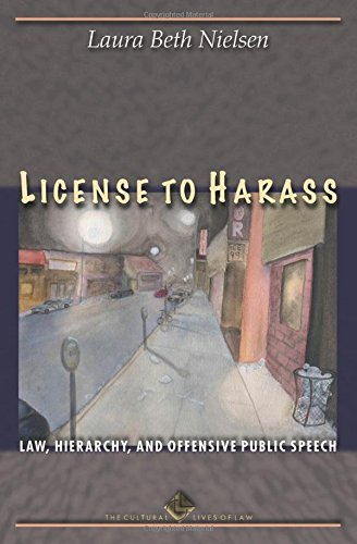 License to Harass: Law' Hierarchy' and Offensive Public Speech (New edition)