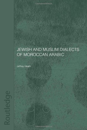 Jewish and Muslim Dialects of Moroccan Arabic