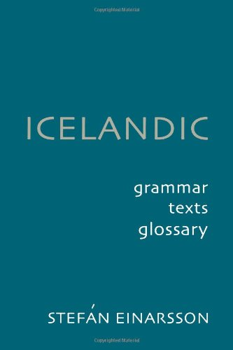Icelandic: Grammar' Text and Glossary (New edition)