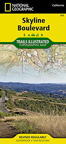 Skyline Boulevard (National Geographic: Trails Illustrated Map #815) (Ti-Other Rec. Areas)