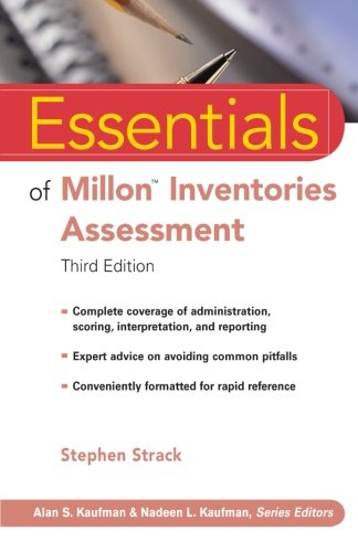 Essentials of Millon Inventories Assessment (3rd Revised edition)