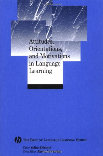 Attitudes' Orientations and Motivations in Language Learning