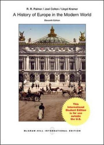 A History of Europe in the Modern World (Intl Ed)