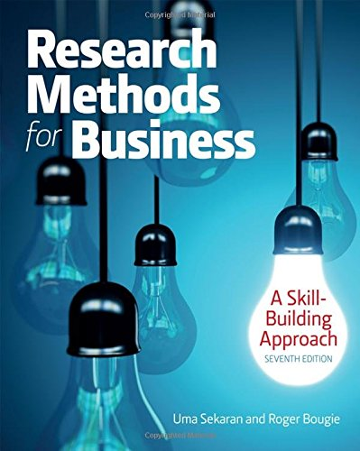 Research Methods for Business: A Skill Building Ap